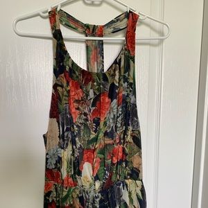 Alice and Olivia Floral Maxi Dress